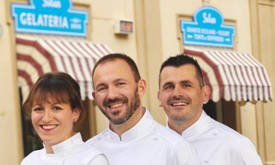 Chiara, Andrea e Stefano Soban