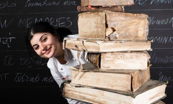 Solaika Marrocco, chef del Primo Restaurant a Lecce. Foto Brambilla-Serrani