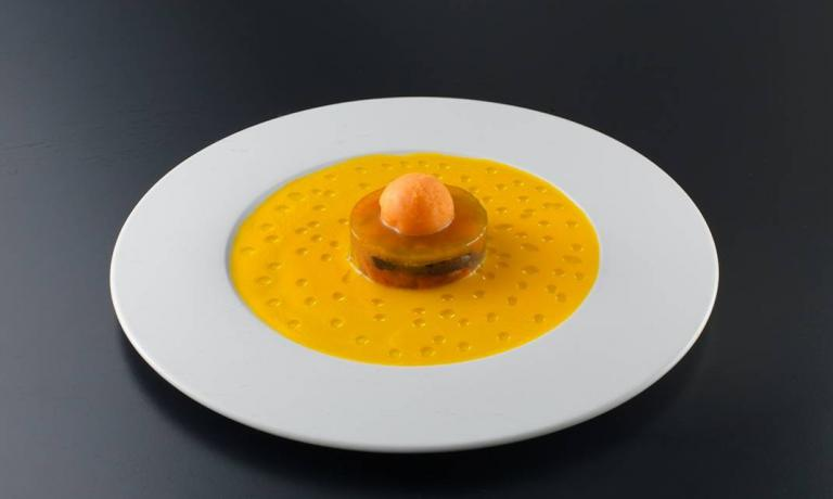 The beautiful dish called Solaris –portrayed by