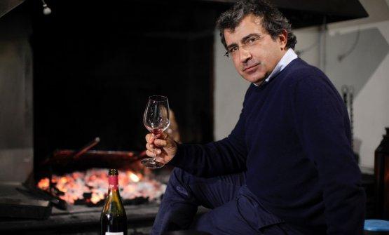 Michele Marcucci: dal 1987 insieme al fratello Simone ha preso in mano la gestione della bottega di vini di famiglia, trasformandola nell'attuale Enoteca(tutte le foto di Alessandro Fabbrini)