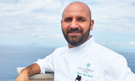 Lo chef Marco Del Sorbo