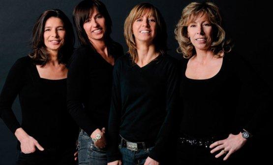 OttaviaBortolomiol e le figlie Maria Elena, Elvira, Luisa e Giuliana
