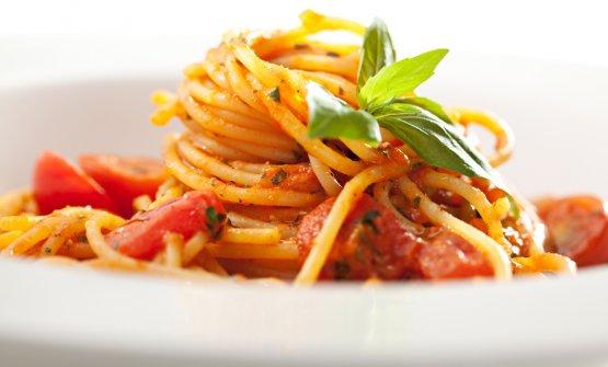 Spaghetti al pomodoro, il piatto simbolo del WorldPasta Day che si celebra oggi. A San Paolo del Brasile sono attesi250 delegati tra pastai, istituzioni, rappresentanti della comunità scientifica, giornalisti e opinion leader del food