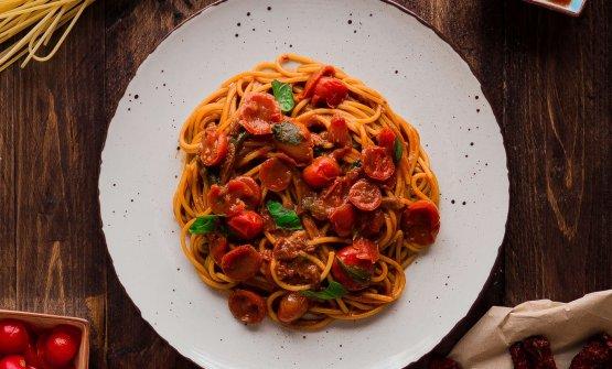 Spaghetto ai Tre pomodori