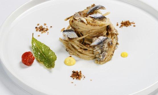 """Spaghettone Verrigni alla brace """"scotadìt"""""""