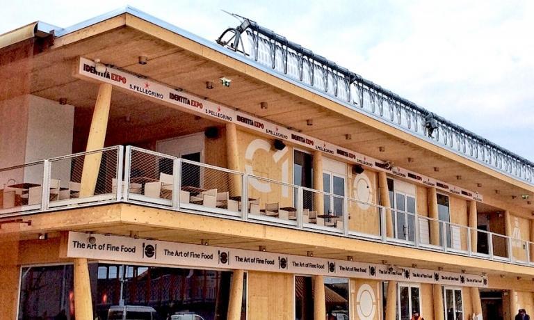 Il temporary restaurant di Identità Expo S.Pelleg