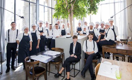 Lo staff diSpazio Milano
