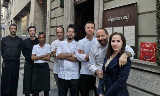 Lo staff del ristoranteAl GaramonddiTorino,