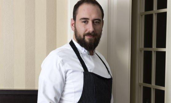 Lo chef Stefano Sforza