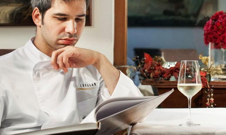 Stefano Deidda, chef at Corsaro, is recommended by Roberto Petza for his creativity in the kitchen