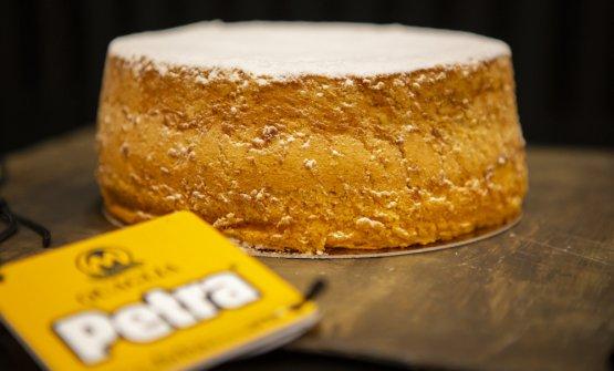 La torta Margherita di Grazia Mazzali nella foto d