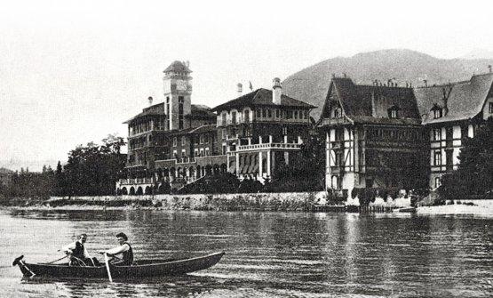 Una foto d'epoca del Grand Hotel
