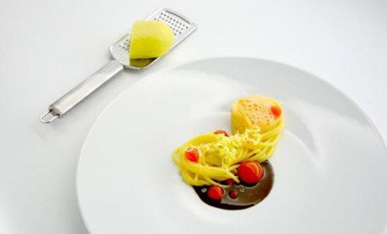 Strana questa aglio, olio e peperoncino, un primo
