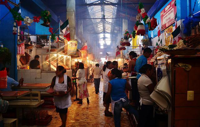 Uno dei favolosi mercati di Oaxaca