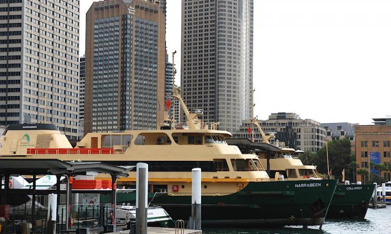 Un'immagine dei grattacieli che a Sydney sovrastano la più centrale e carica di storia delle tante baie che costellano la metropoli. Al centro si distingue la torre che ospita il Four Seasons