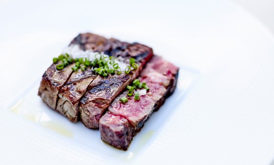 Beef tagliata by Zanoni (photo by Jean-Claude Amiel)