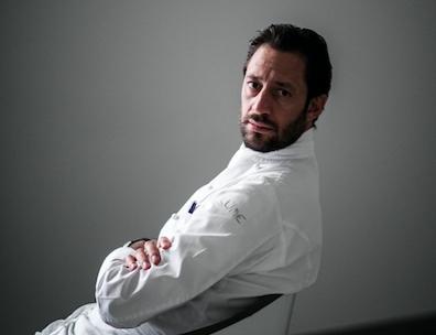 Lo chef Luigi Taglienti(foto di Andrea Moretti)