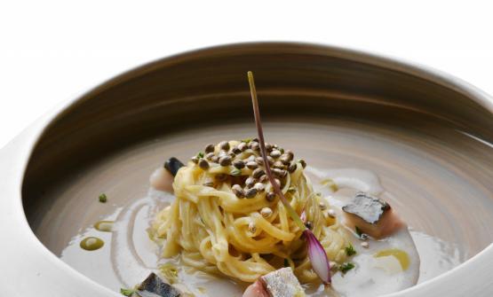 Andrea Mattei, chef del ristorante Meo Modo, all&#