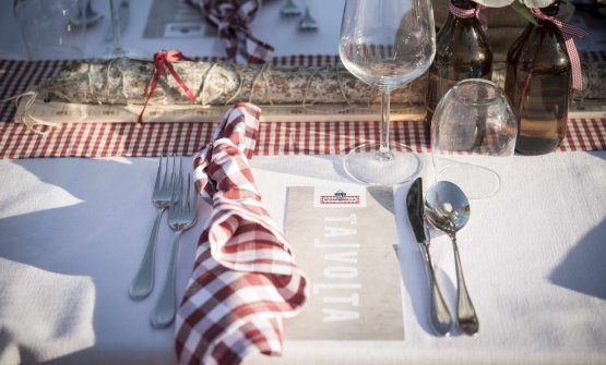 La tavola imbandita di Talvolta, novità proposta