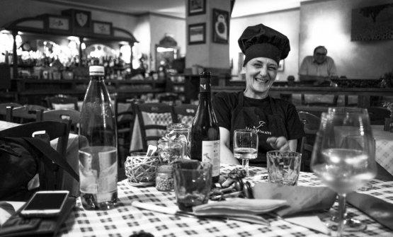 Aida Angelini, chef-patron della locanda che ad Ac