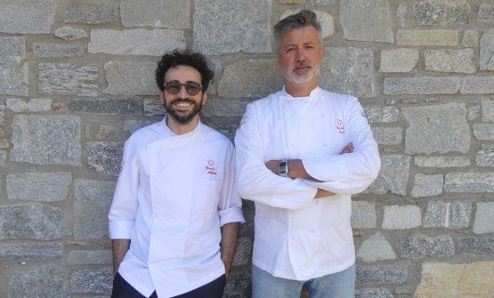 Da sinistra, Franco Aliberti e Gianni Tarabini