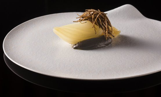 Black truffle and onion