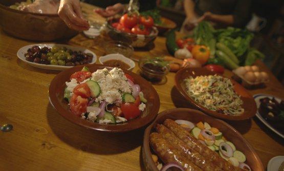 L'alimentazione cretese è un tripudio di vege