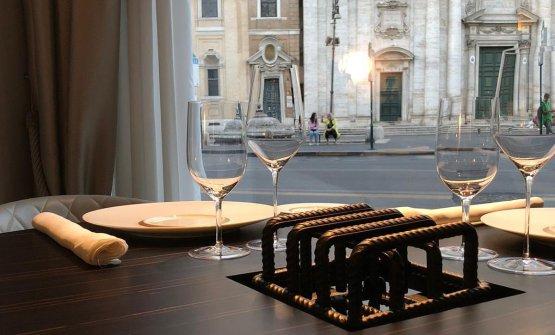 La nuova mise-en-place di Pipero Gourmet, Roma
