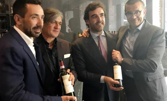 Balbino Terenzi, Beppe Caviola, Federico Terenzi e Roberto Racca presentano il Madrechiesa