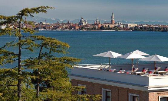 Venezia vista dall'Isola delle Rose