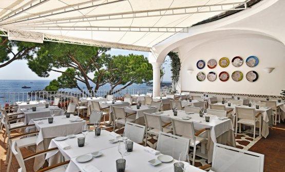 La terrazza del ristorante Sensi