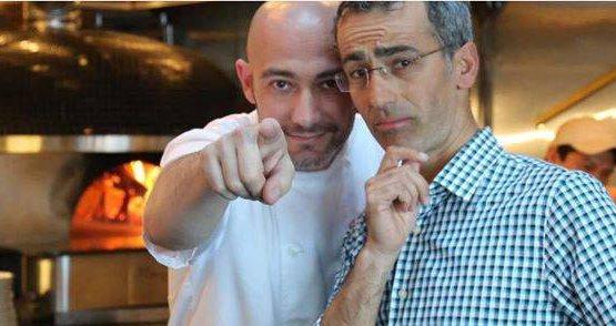 Kristyan D'Angelo, a sinistra, e Maico Campilo