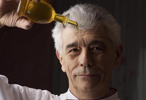 Paolo Teverini, chef at the homonymous restaurant