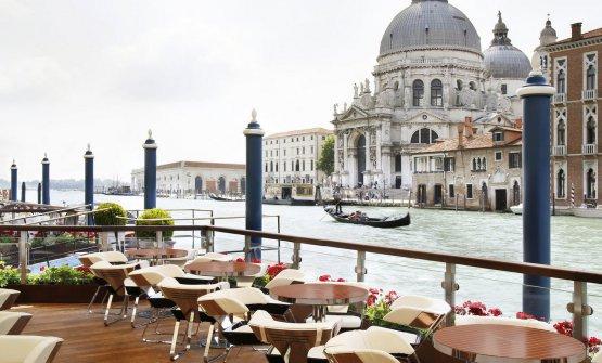 La Terrazza Club del Doge, hotel Gritti Palace a Venezia
