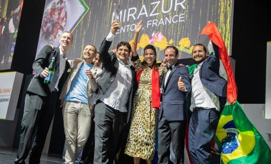The winning team atMirazurin Mentone