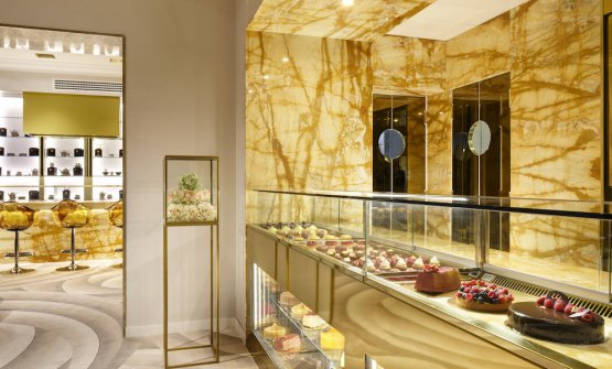 La pasticceria Velo dell'hotel The First Roma