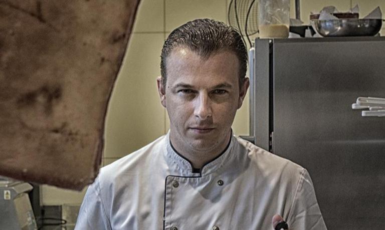 Thomas Locus, chef at Bistro Margaux in Sint-Marte