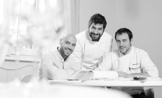 Thomas Piras, Matias Perdomo e Simon Press, il trio di Contraste e, da ieri, di Exit - Gastronomia Urbana