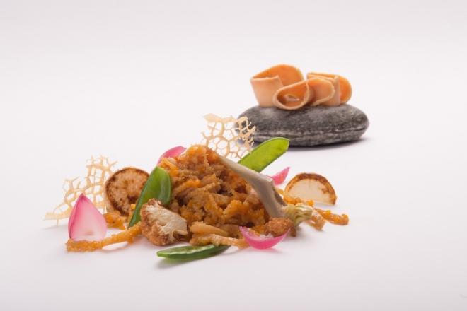 Tripe and foie gras,Griffa's dish