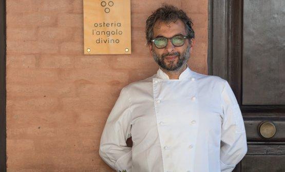 Tiziano Rossetti, chef del ristorante L'Angolo Divino