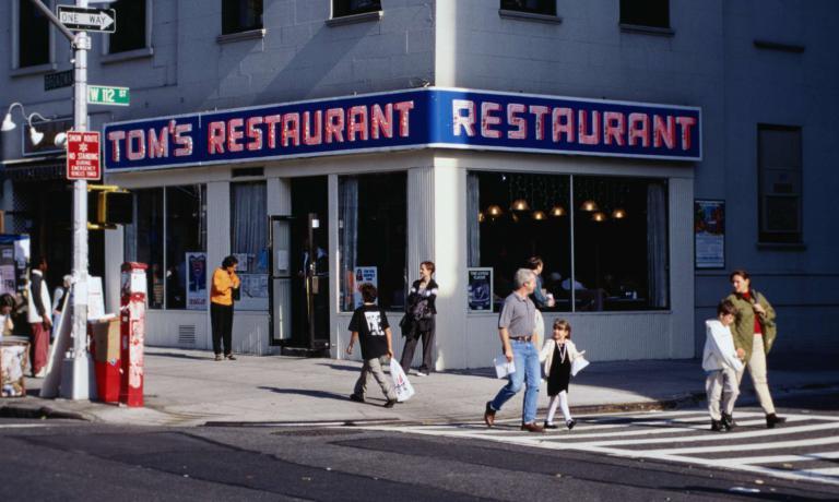 Il Tom's Restaurant è una vera icona di New Y