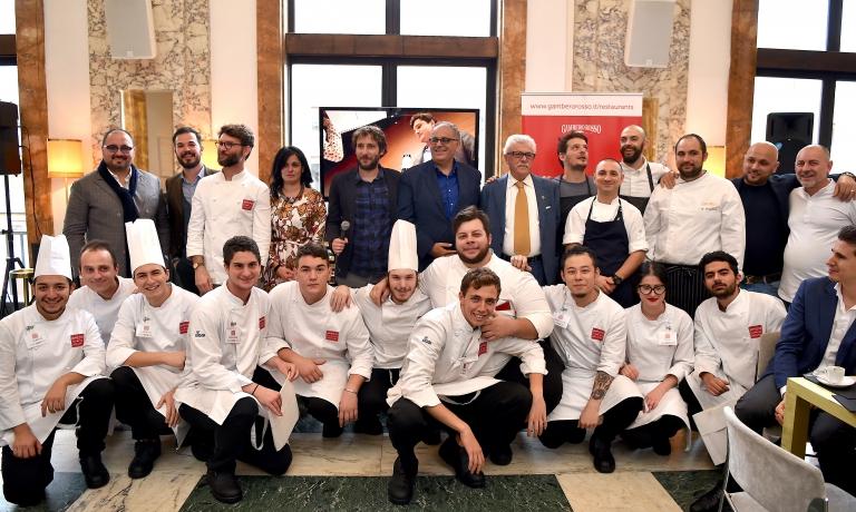 Foto di gruppo dei premiati daTop Italian Restaurants