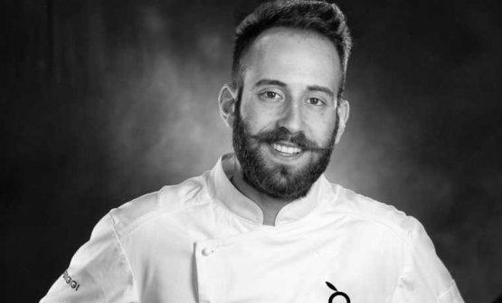Giuseppe Torcasio, chef del ristoranteEx Trappet