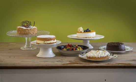 Una selezione delle torte create perI Dolci della Regina