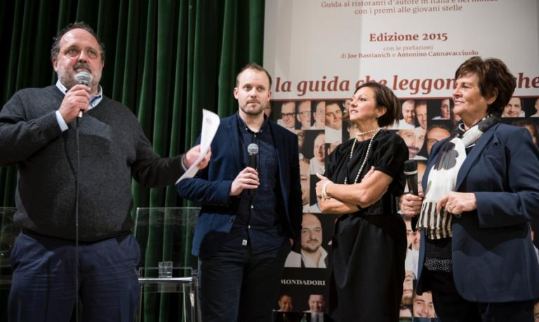 Paolo Marchi explains the decision of giving the award to David Toutain