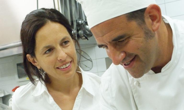 Juan Lema con la moglie Cristina