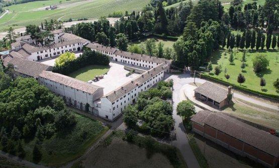 La sede diTravaglinoin Oltrepo Pavese