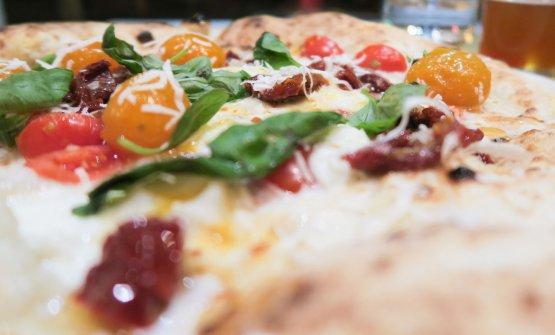 La deliziosaMargherita aiTre Pomodori