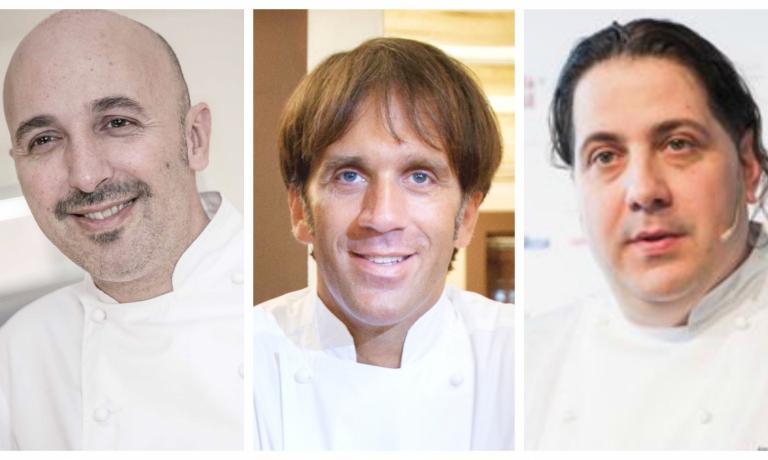 Andrea Ribaldone, Davide Oldani e Gianluca Fusto, protagonisti di due serate d'eccezione a Identit� Expo
