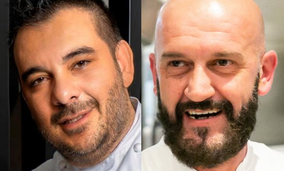 Felice Lo Basso ed Enzo Florio, ieri sera insieme